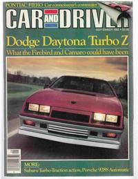 Car and Driver September 1983 Volume 29, Number 3