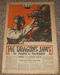 image of The Dragon's Jaws  Supplement of Philadelphia Record for Sunday Oct. 24th 1937