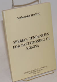 image of Serbian Tendencies for Partitioning of Kosova