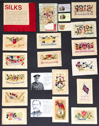 image of Collection of unusual World War I French Silk postcards, including two portrait silks of General Haig and Lord Kitchener