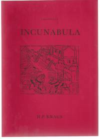 Catalogue 154. Incunabula from the Library of Harrison D. Horblit.