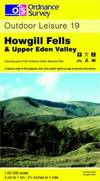 image of Howgill Fells and Upper Eden Valley (OS Explorer Map Active)
