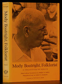 image of Mody Boatright, Folklorist: A Collection of Essays