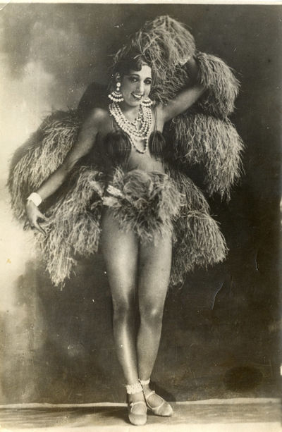 JOSEPHINE BAKER (1930) French photo