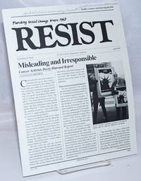 image of Resist, a call to resist illegitimate authority. Funding social change since 1967. Vol. 6 # 3, April 1997