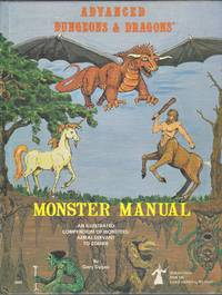 Advanced Dungeons & Dragons, Monster Manual, 3rd printing, December 1978