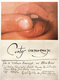 image of Immoral Tales [Contes immoraux] (Original French grande poster from the 1973 anthology film)