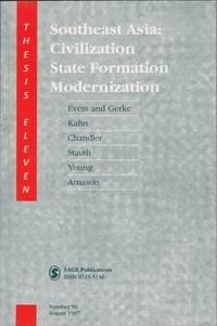 Southeast Asia: Civilization, State Formation, Modernization