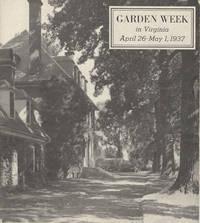 image of Garden Week in Virginia, 1937