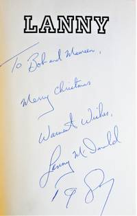 image of Lanny. INSCRIBED COPY.