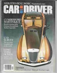 Car and Driver April 1982 Volume 27, Number 10
