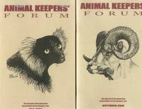 Animal Keepers' Forum (The Journal of the American Association of Zoo Keepers, Inc.): 7 Volumes