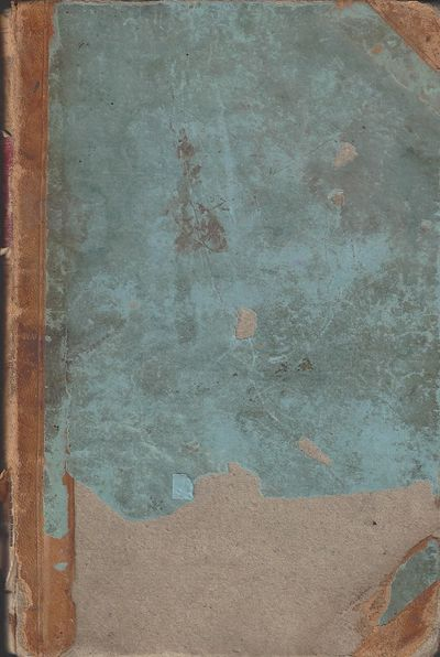 Great Salt Lake City: James A. Thompson, Public Printer, 1867. 247+40+8pp. Octavo 3/4 leather over b...