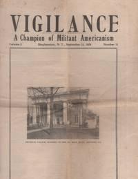 Vigilance A Champion of Militant Americanism