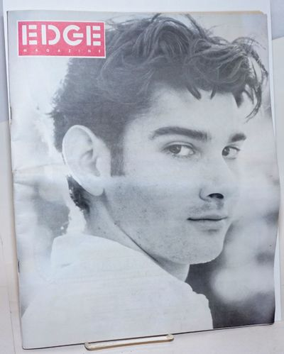 Los Angeles: Edge Publishing, 1990. Magazine. 88p. including covers, 10.75x13.75 inches, illustratio...