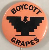 image of Boycott grapes [pinback button]