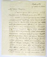 AUTOGRAPH LETTER SIGNED, 9 MARCH 1835, FROM WASHINGTON, TO WILLIAM OR FRANCIS BAYLIES, DISCUSSING RELATIONS WITH FRANCE, POLITICAL MATTERS, AND PERSONAL SENTIMENTS