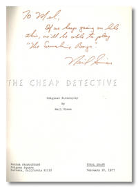 THE CHEAP DETECTIVE  ORIGINAL SCREENPLAY BY...