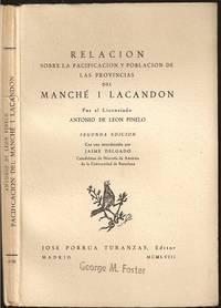 image of Relacion Sobre La Pacificacion Y Poblacion De Las Provincias Del Manche I Lacandon