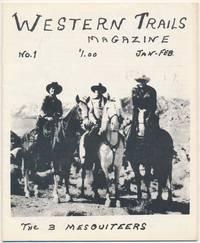 Western Trails Magazine: Vol. 1, No. 1 (Jan.-Feb. 1975)