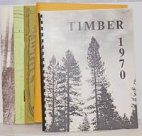 image of '70 Timber. Annual Publication of the Forestry Students of the University of California, Berkeley [with] Timber '77, Vol. 21 [with] Timber '78 [with] Timber 1997 [5 unduplicated items]