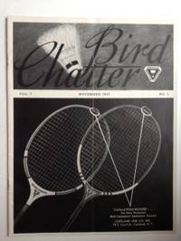 Bird Chatter November 1947, Vol. 7  No. 1