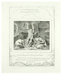"""Illustrations of the Book of Job. Plate #8 """"Let the Day Perish Wherein I was born."""""""