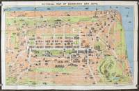 Pictorial Map of Edinburgh and Leith.