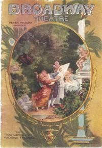 BROADWAY THEATRE, WEEK BEGINNING MONDAY, APRIL 7, 1913