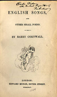 ENGLISH SONGS AND OTHER SMALL POEMS
