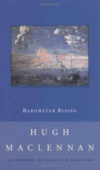 Barometer Rising (New Canadian Library S.)