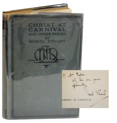 London: Herbert Jenkins Limited, 1916. First edition. Hardcover. 108 pages. Stuart's first book. A n...