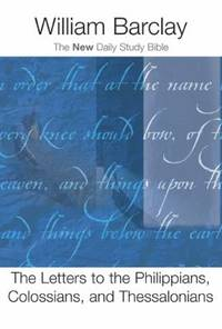 image of The Letters to the Philippians, Colossians, and Thessalonians