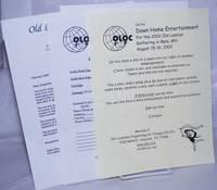 image of Old Lesbians Organizing for Change [three handbills]
