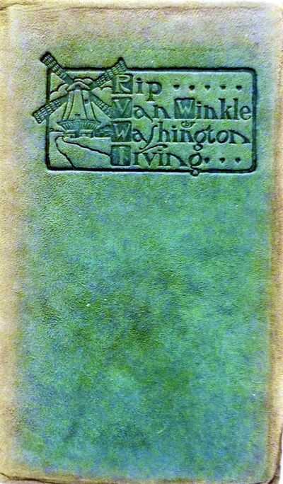 East Aurora: Roycrofters, 1905. leather_bound. Orig. green cowhide covers faded to brown at spine an...