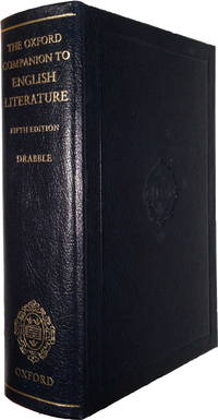 The Oxford Companion to English Literature (SIGNED BY MARGARET DRABBLE)