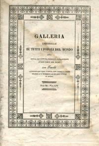 """image of Capt. Cook's discovery of Hawaii in """"Galleria Universale di Tutti i Popoli del Mondo"""", the single fascicle"""
