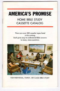 America's Promise: Home Bible Study Cassette Catalog for Individual, Family, or Class Bible Study