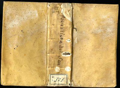 Venice: Nicolo Pezzana, 1669. Later Edition. Hardcover (Vellum & Cloth). Very Good Condition. Contem...