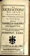 View Image 3 of 3 for La Ricreatione del Savio in Discorso con la Natura, e con Dio. Libri Due Inventory #046825