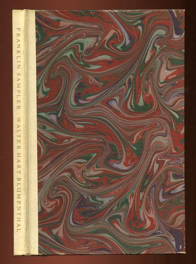 Philadelphia: Free Library of Philadelphia, 1964. Hardcover. Fine. First edition. Fine. One of 500 c...