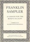 View Image 2 of 2 for Franklin Sampler: A Garner For The Mind's Delight Inventory #45736