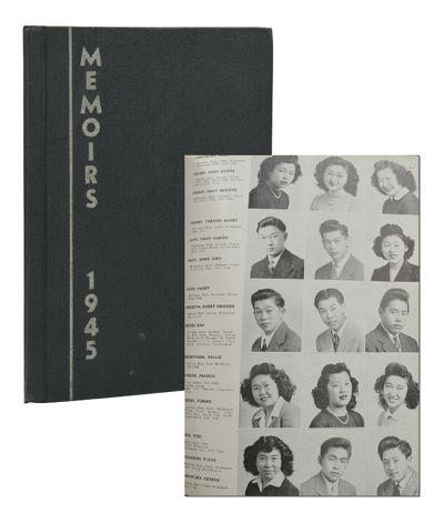 Hunt, ID: Hunt High School, 1945. Near Fine. Original black cloth lettered in yellow, illustrated en...