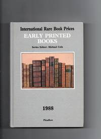 Early Printed Books 1988