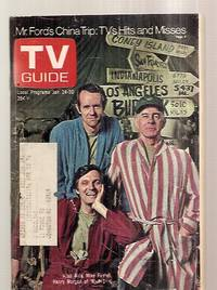 image of Tv Guide Jan. 24 1976 Vol. 24 No. 4 Issue #1191 [mr. Ford's China Trip:  Tvs Hits And Misses / Alan Alda, Mike Farrell, Henry Morgan Of M*a*s*h*]