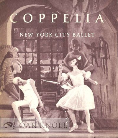 (New York, NY): New York City Ballet, 1974. accordion fold bound in stiff paper wrappers. Ballet. 16...