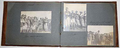California, Niagara Falls, St. Louis World's Fair, Hawaii, Philippines, Japan, 1900. Leather album (...