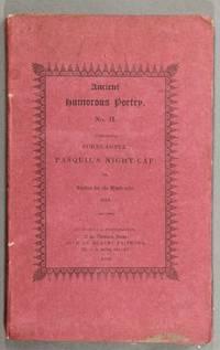 Cornu-copiae; Pasquil's night-cap, or Antidot for the head-ache; Antidot for the head-ache