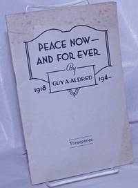 image of Peace now -- and for ever