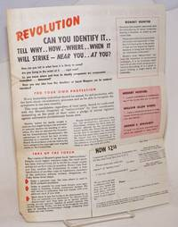 It strikes by stealth ... seldom openly.  Revolution, it undermines, then destroys governments ... while their citizens sleep.  Will it strike down America while you sleep by Committee for Constitutional Government.  [Robert Hunter] - 1944 - from Bolerium Books Inc., ABAA/ILAB and Biblio.com